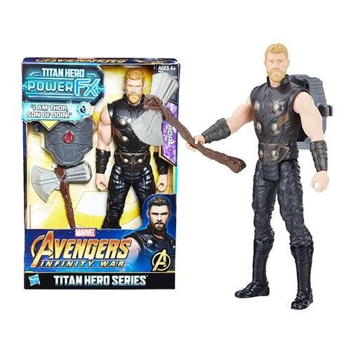 Boneco Titan Power Fx Thor - Hasbro