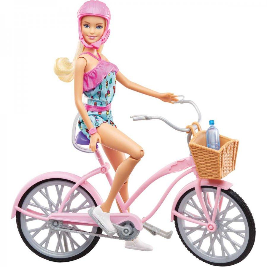 Barbie com Bicicleta Ftv96 - Mattel