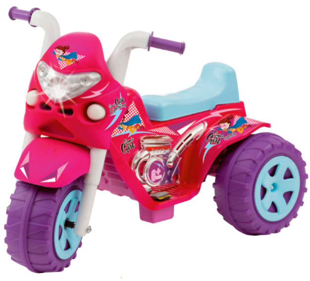 Moto Elétrica GP Raptor super Girl 6V 734 - BIEME