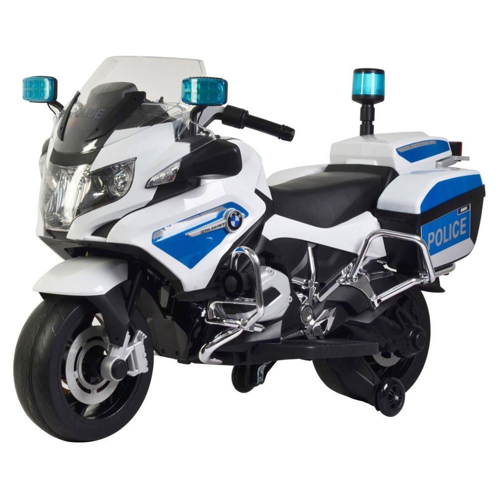 Moto Elétrica - BMW Policia - 12v - Bandeirante
