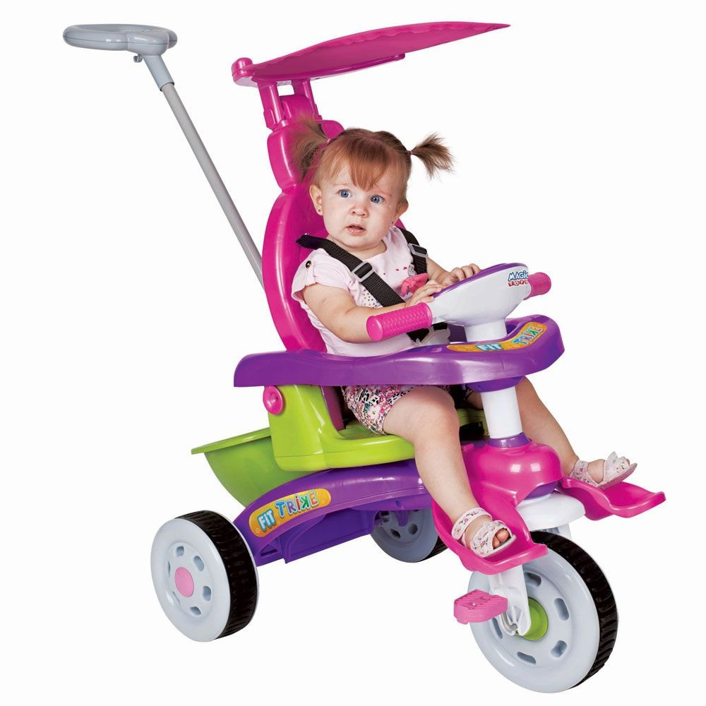 Triciclo Fit Trike Rosa - Magic Toys