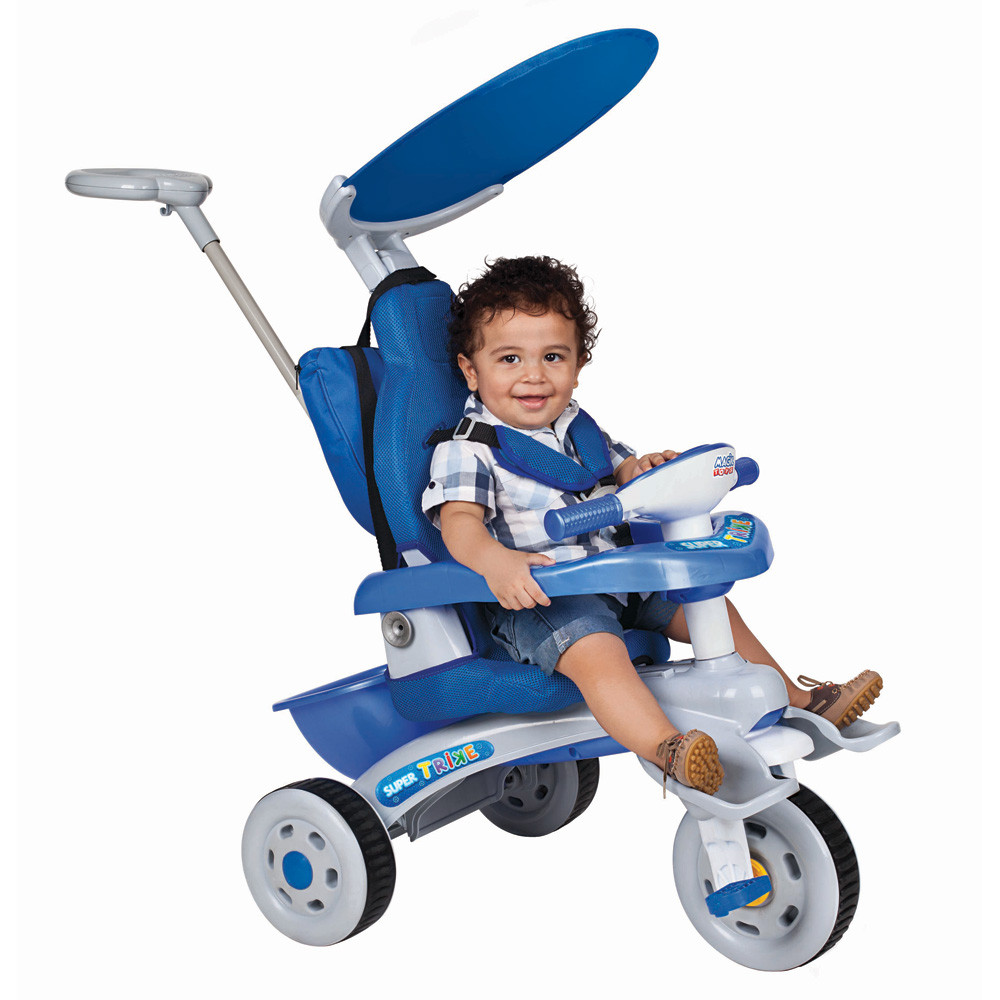 Triciclo Super Trike Azul - Magic Toys