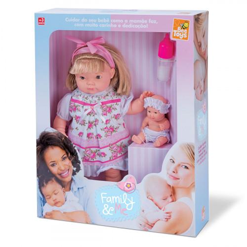 Boneca Family E Me 35cm 0812 - Bee Toys