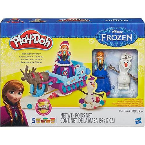 Conjunto Play-Doh Trenó Frozen - Hasbro