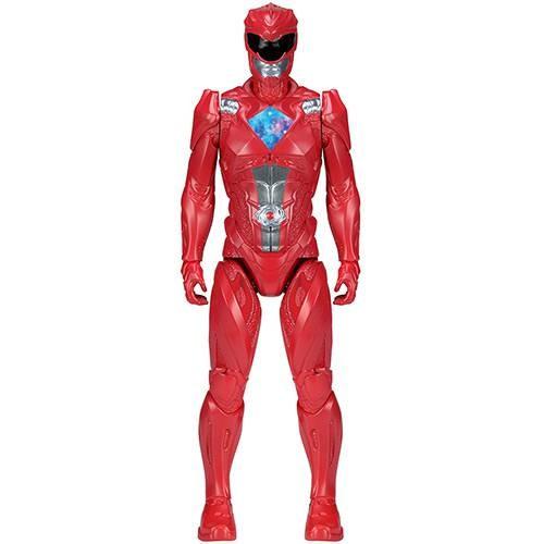 Boneco Power Rangers O Filme Vermelho - Sunny Brinquedos