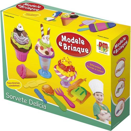 Modele e brinque – Sorvete delícia