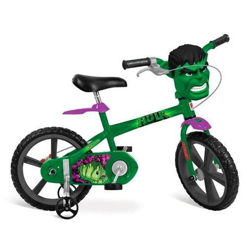 Bicicleta Aro 14 Hulk Vingadores - Bandeirante