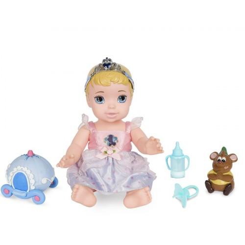 Boneca Baby Cinderela Princesa Com Acessórios - MIMO