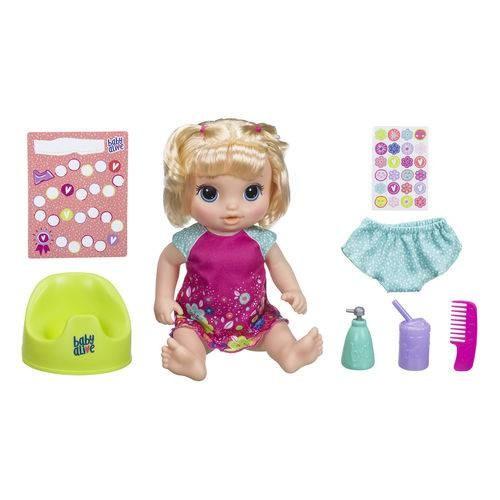 Boneca Baby Alive Primeiro Peniquinho Loira - E0609 - Hasbro