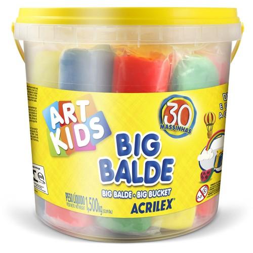 Big Balde Massinhas Soft - Acrilex