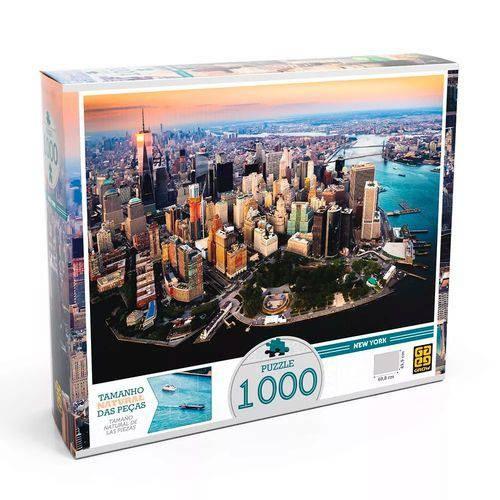 Quebra-cabeça 1000 Peças - Puzzle New York - GROW