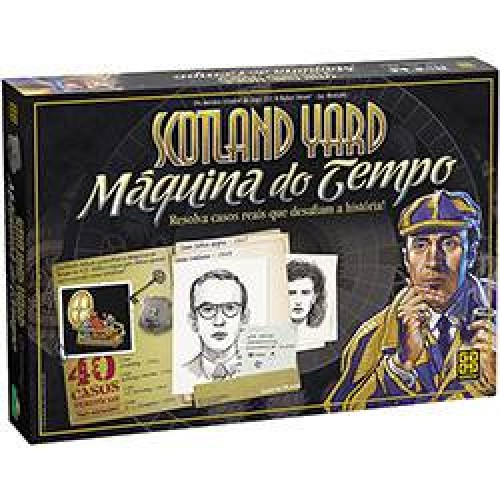 Scotland Yard Máquina do Tempo - GROW