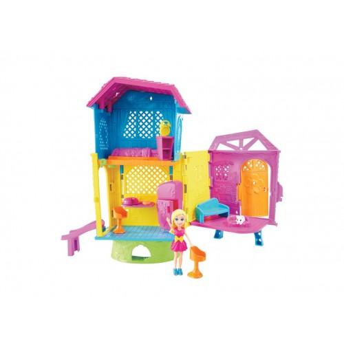 Boneca Polly Super ClubHouse - Mattel