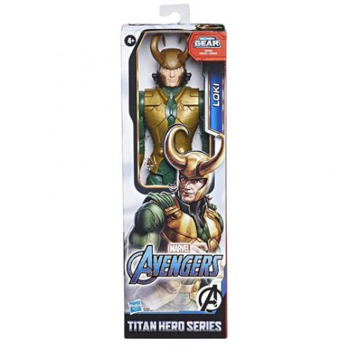 Boneco Avengers Marvel F12 Titan Hero Blast Gear - Loki - Hasbro - E7874