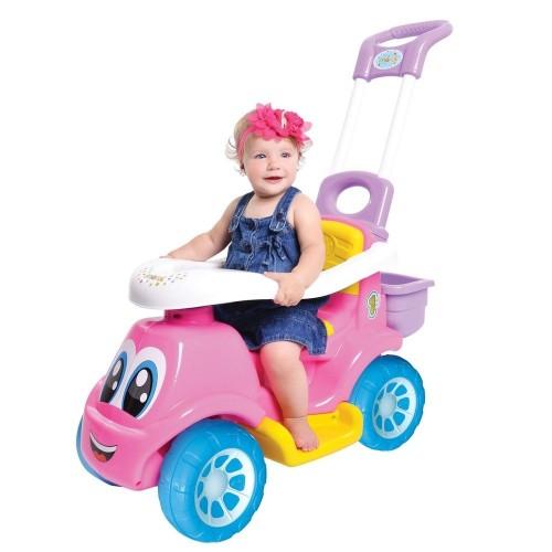 Carro Little Truck 3X1 Rosa - Maral
