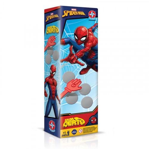 Jogo Tapa Certo SpiderMan- Estrela