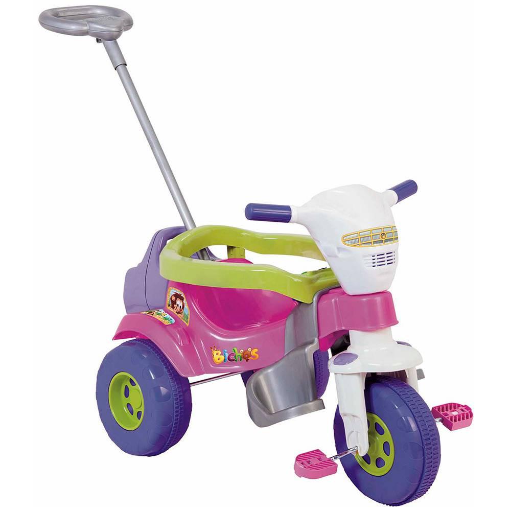 Tico Tico Bichos Rosa com Som e Luzes - 3513 - Magic Toys