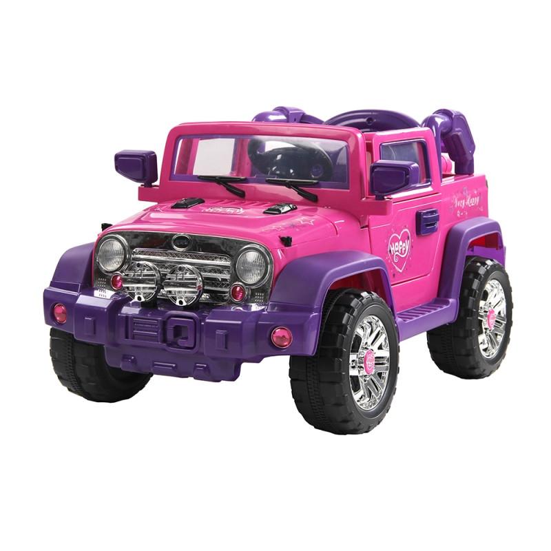 Jipe Elétrico Rali Pink com Controle Remoto 927500 - Bell