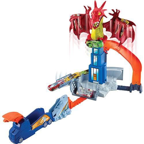 Pista HotWheels Furia do Dragão - Mattel