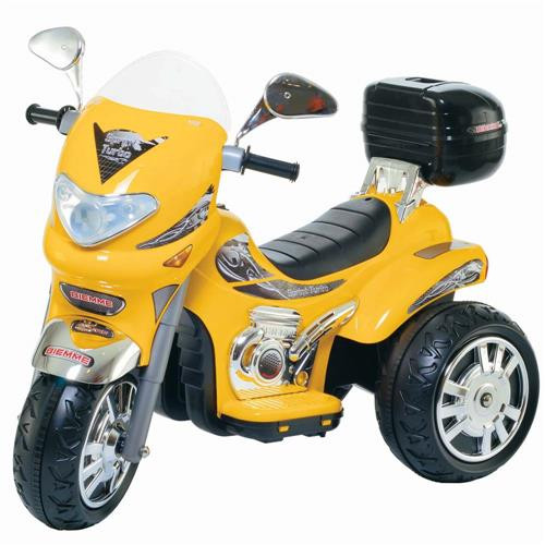 Moto Sprint Custon Amarelo El 6V - Biemme