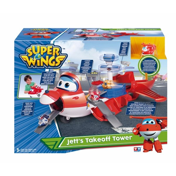 Super Wings - Jett's Takeoff Tower