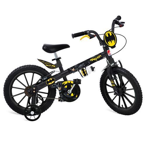 Bicicleta Aro 16 Batman - 2363 - Bandeirantes