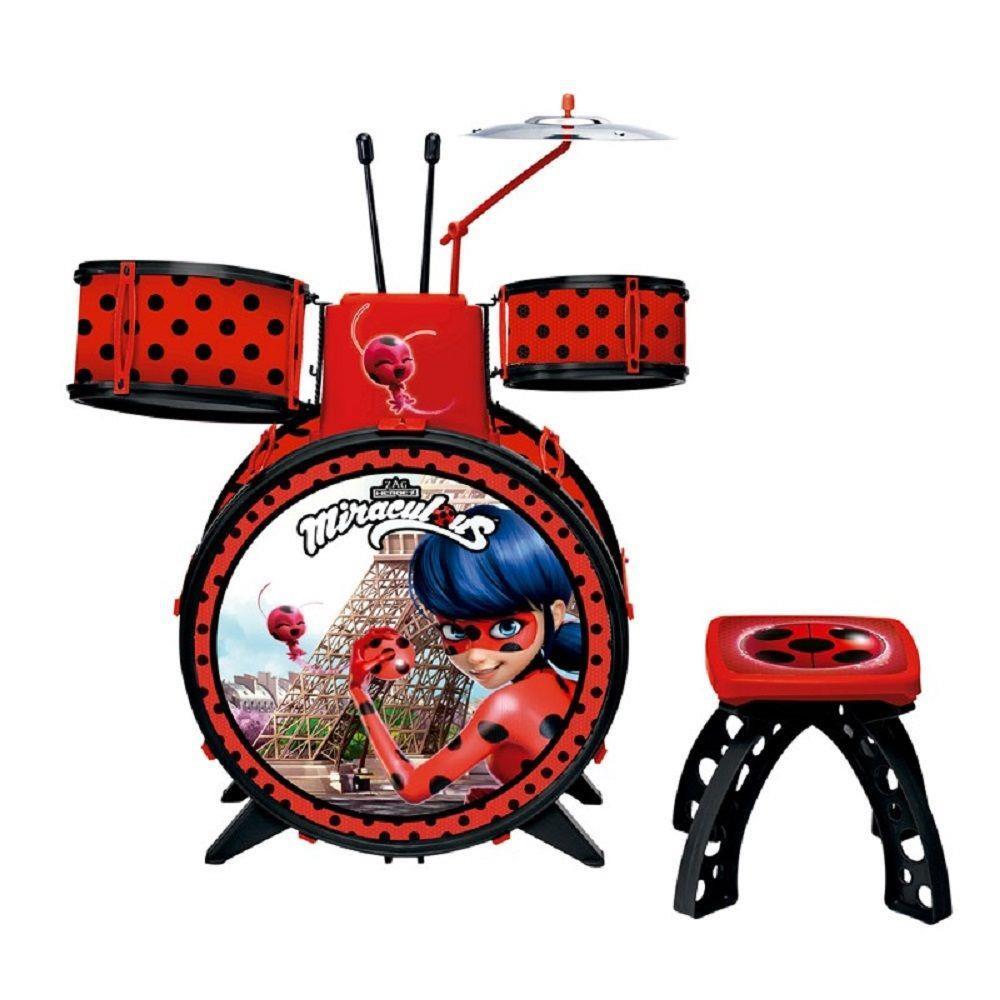 Bateria infantil  Musical Ladybug - Fun