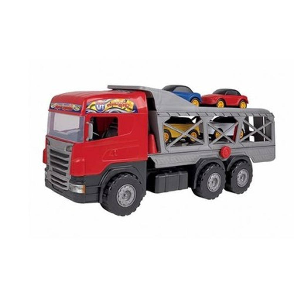 Caminhão Super Cegonha Vermelho
