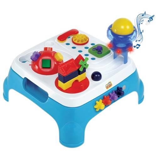 Mesa Max Atividades Azul Som - Magic Toys