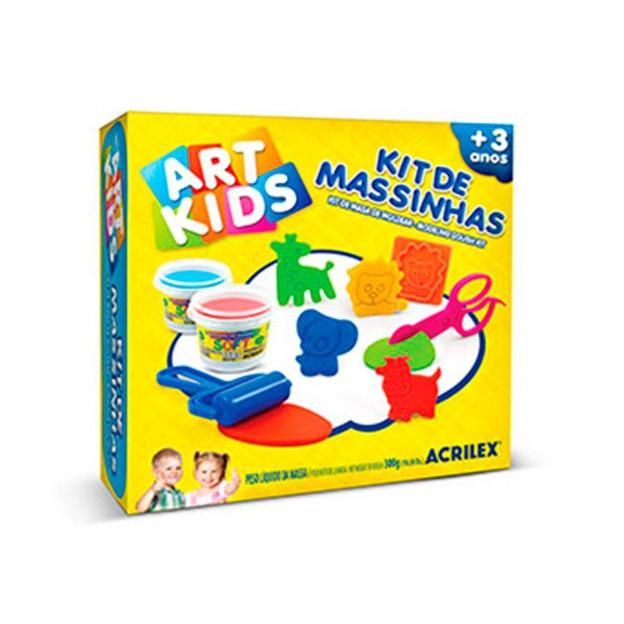 Kit de Massinhas Animais - Acrilex