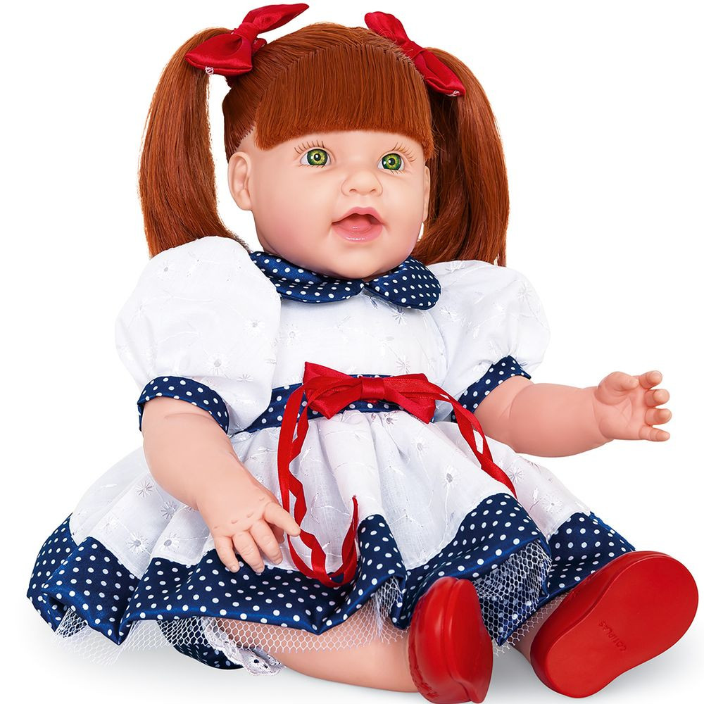 Boneca Dolls With Love Ruiva - Cotiplas
