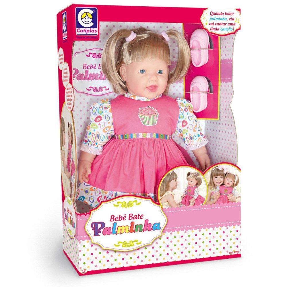 Boneca Bebe Bate Palminha - Cotiplas