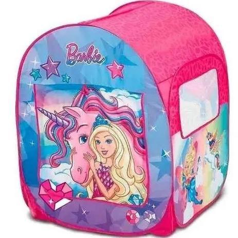 Barraca Infantil Mundo dos Sonhos Barbie Com 50 Bolinhas - Fun