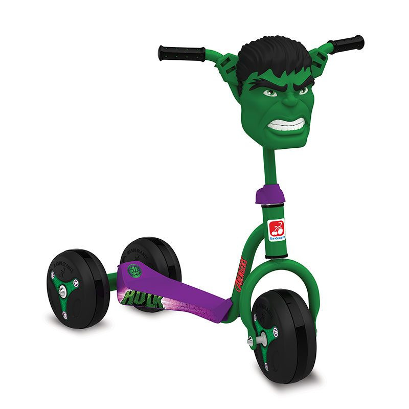 Patinete do Hulk - BANDEIRANTE