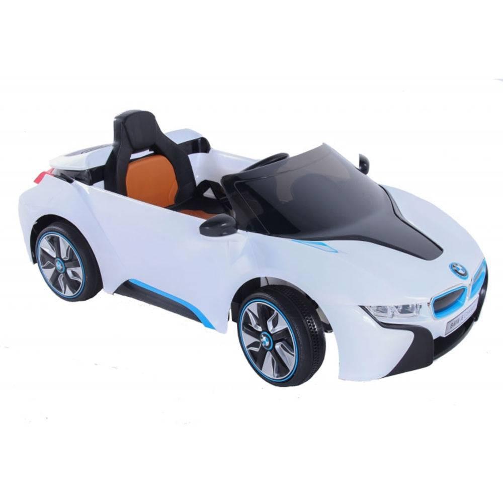 Carro Elétrico Esporte BMW Branco Controle Remoto 6V - BEL BRINK