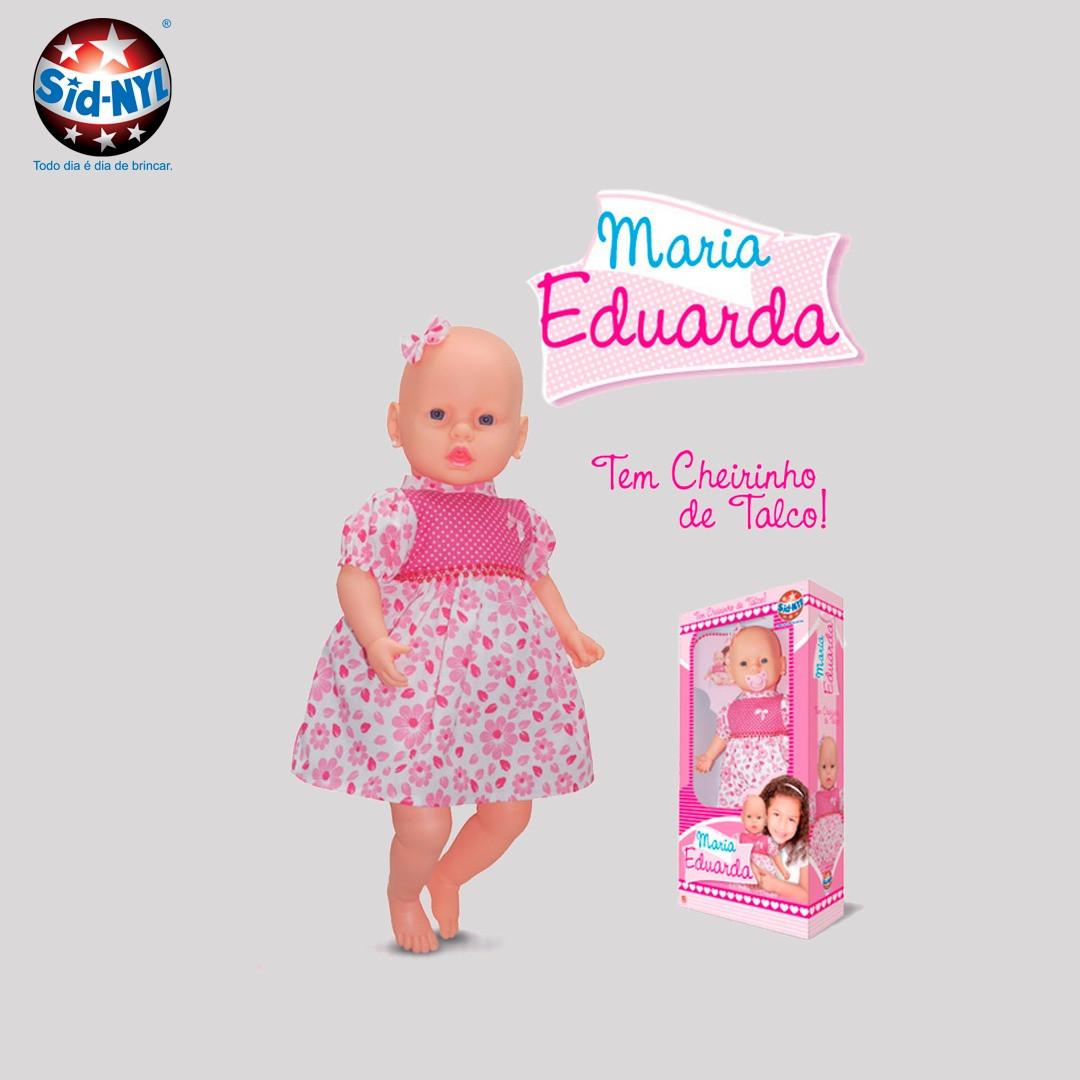 Boneca Maria Eduarda - Sid-nyl