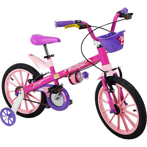 Bicicleta Aro 16 Top Girls - Nathor