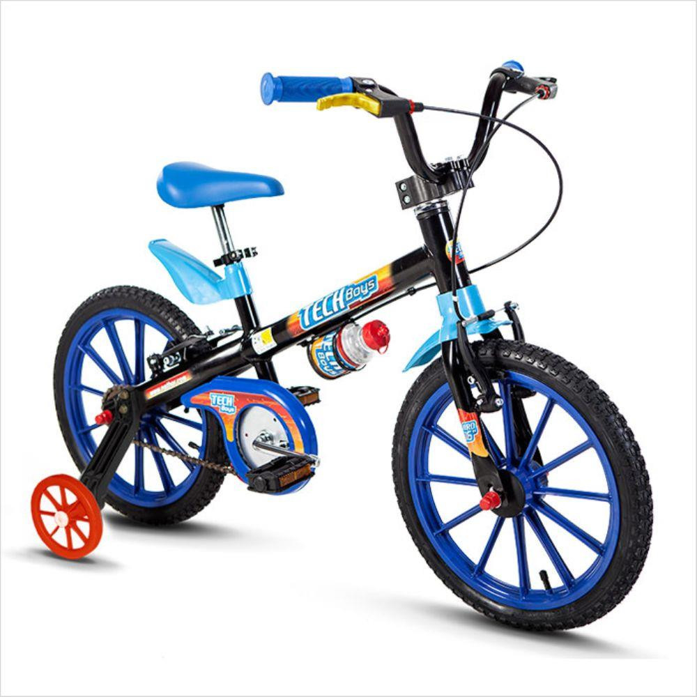 Bicicleta Aro 16 Tech Boys - Nathor