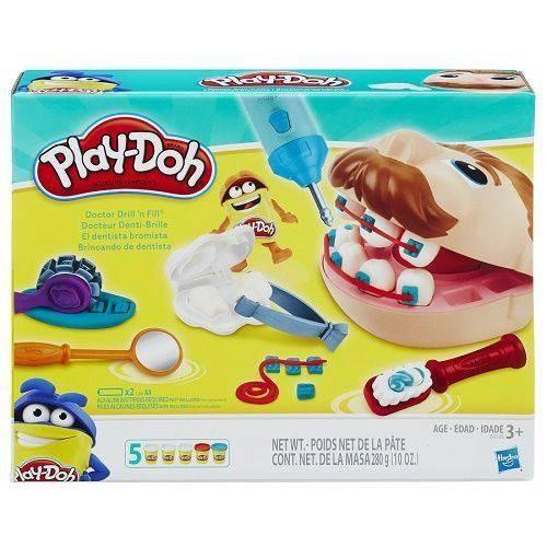 Brinquedo Play Doh Playset Brincando de Dentista - Hasbro