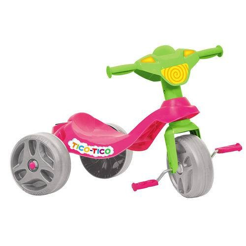 Triciclo Tico-Tico Rosa - Bandeirante