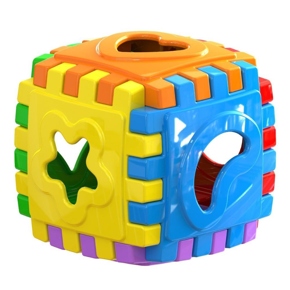 Brinquedo Baby Cube Colorido - MARAL