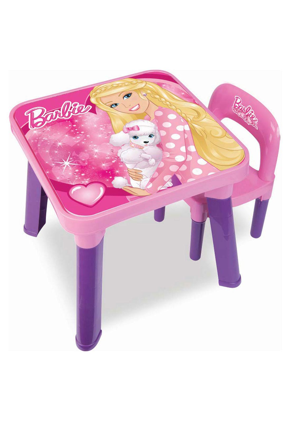 Mesinha Com Cadeira Barbie - FUN