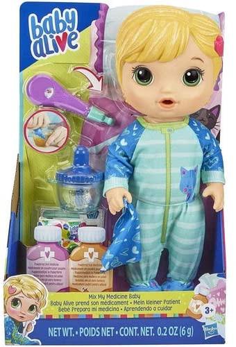 Boneca Baby Alive Loira Aprendendo Cuidar Da Hasbro