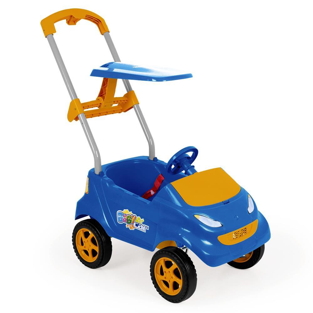 35172d6e36 ... Baby Car Carrinho Infantil Azul - Xplast