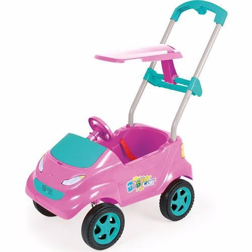 Baby Car Carrinho Infantil Pink - Xplast