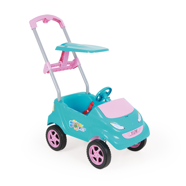 Baby Car Carrinho Infantil Turquesa - Xplast