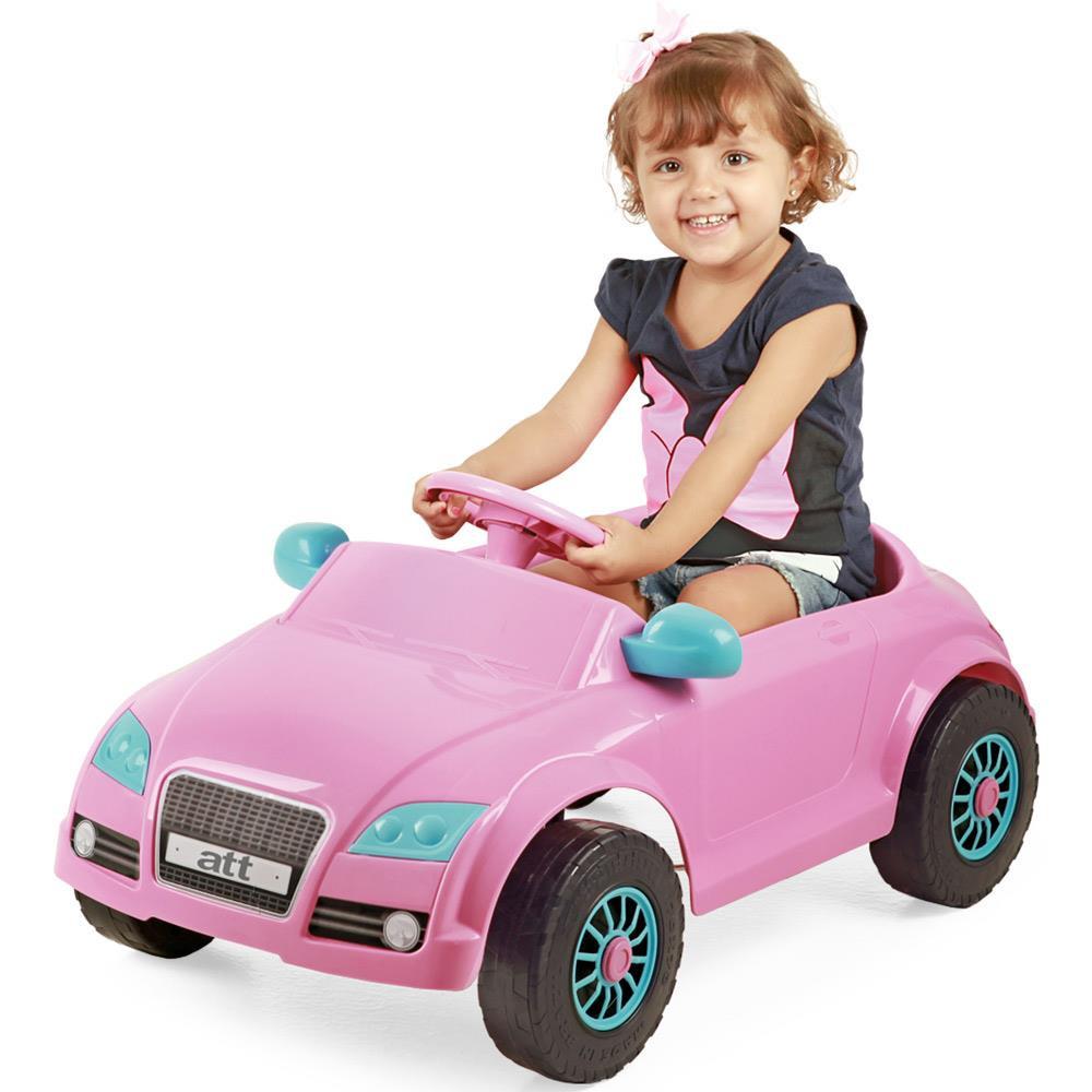 Carro A Pedal ATT Infantil Pink - Xplast