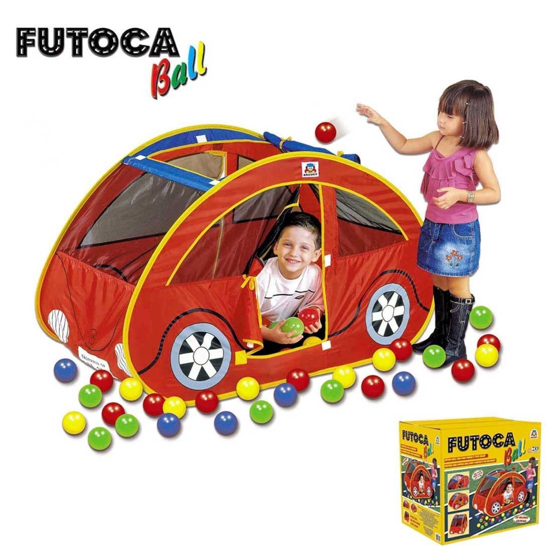 Futoca Ball com 150 bolinhas Coloridas - Braskit