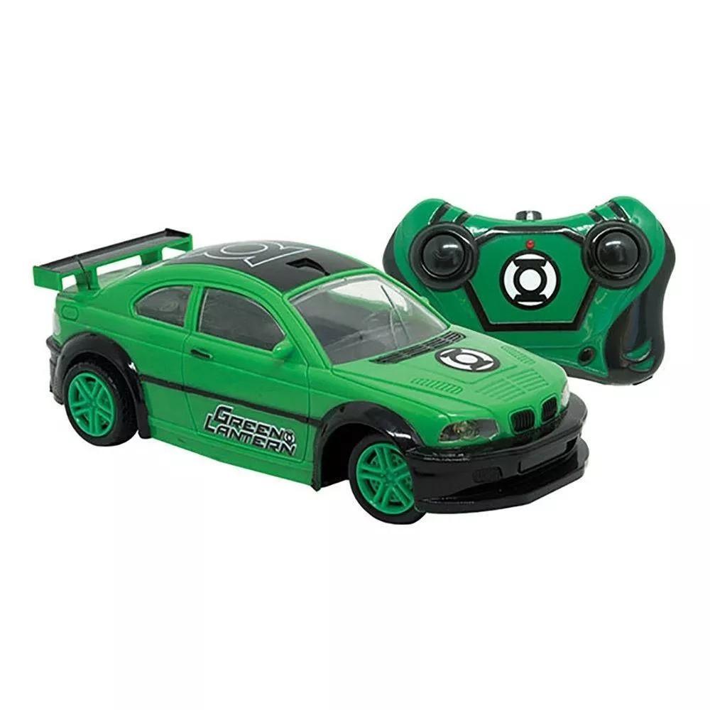 Carrinho de Controle Remoto Power Machine  DC Comics  Batman Vs Superman Lanterna Verde - Candide