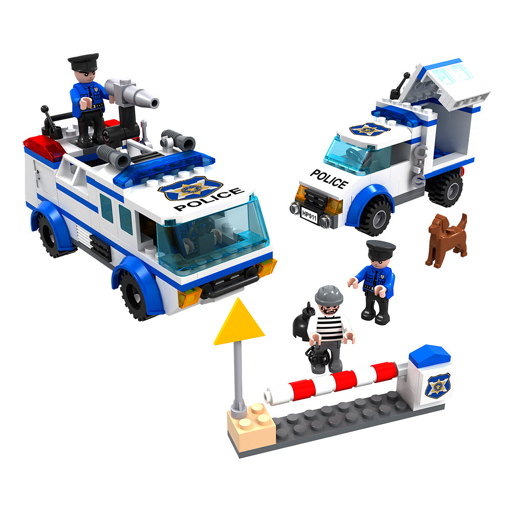 Esquadrão de polícia – 368 peças
